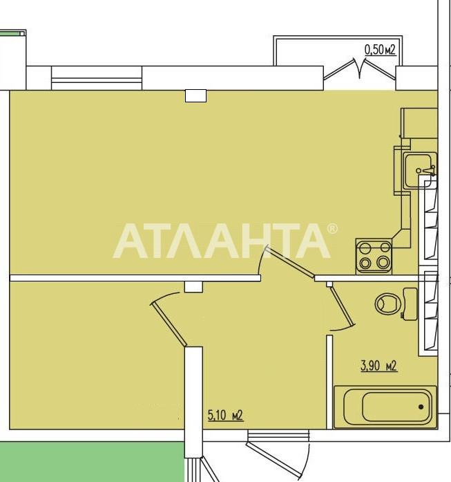 Продается 1-комнатная Квартира на ул. Жемчужная — 39 900 у.е. (фото №9)