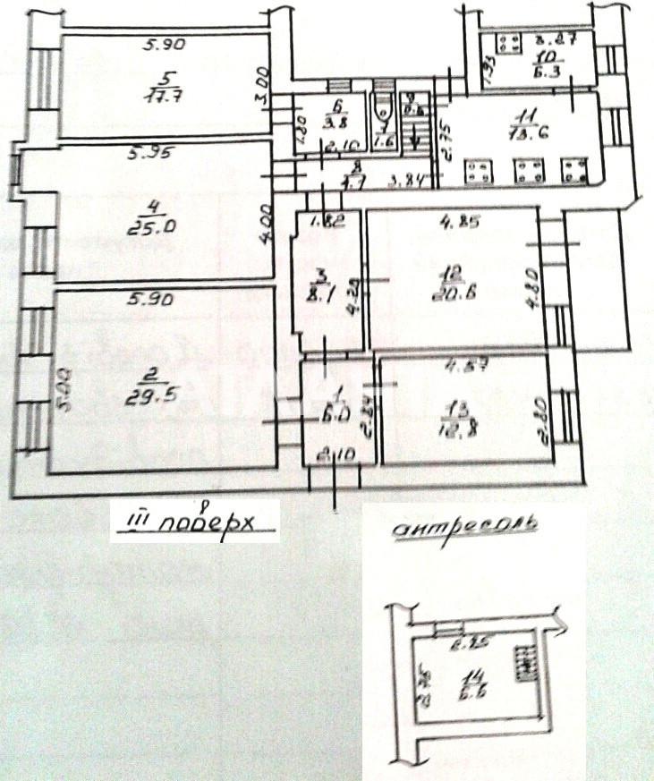 Продается Коммунальная на ул. Коблевская (Подбельского) — 13 400 у.е. (фото №10)