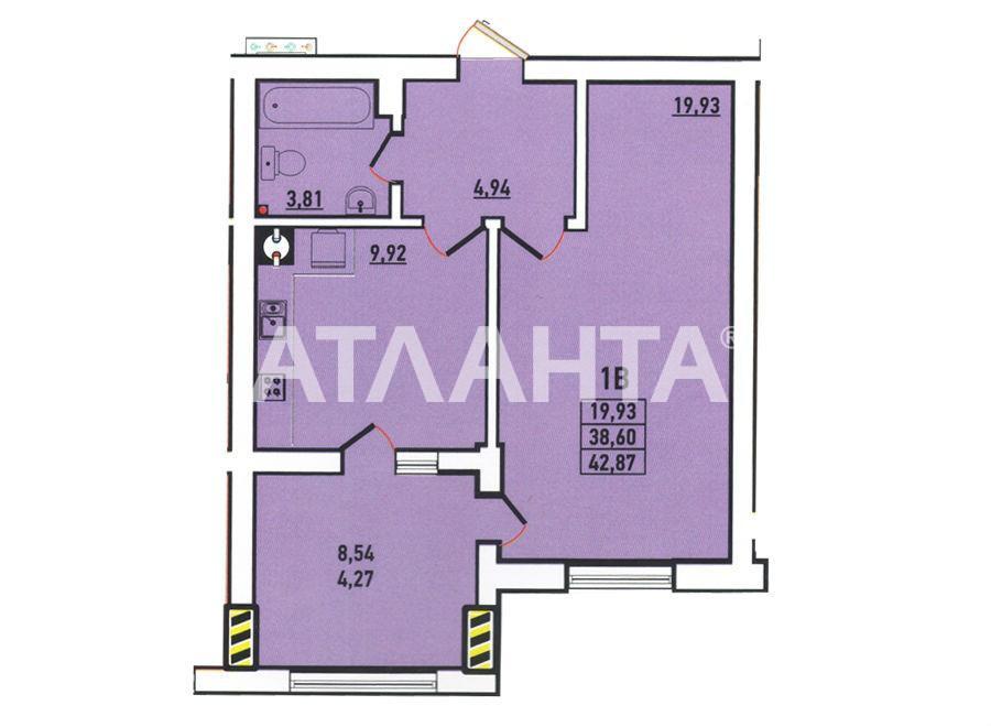 Продается 1-комнатная Квартира на ул. Радужный М-Н — 42 000 у.е. (фото №3)