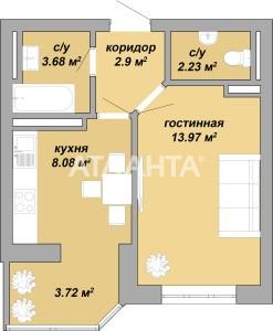 Продается 1-комнатная Квартира на ул. Ильфа И Петрова — 25 000 у.е.