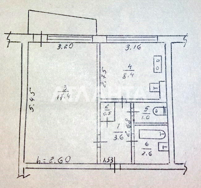 Продается 1-комнатная Квартира на ул. Шишкина — 32 000 у.е. (фото №15)