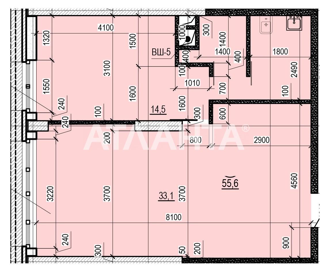 Продается 1-комнатная Квартира на ул. Французский Бул. (Пролетарский Бул.) — 51 000 у.е. (фото №3)