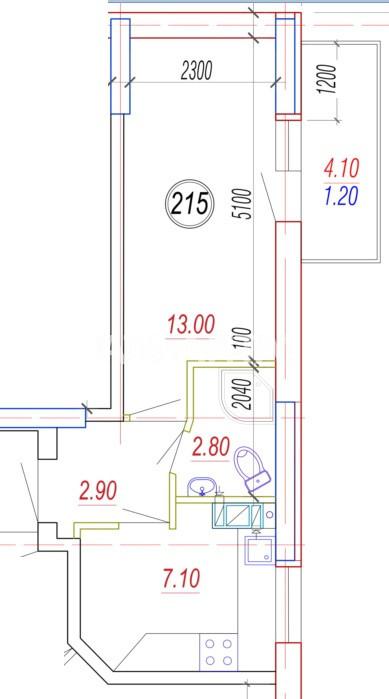 Продается 1-комнатная Квартира на ул. Балковская (Фрунзе) — 18 630 у.е. (фото №4)