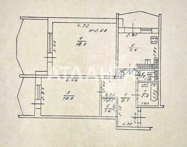 Продается 2-комнатная Квартира на ул. Королева Ак. — 41 000 у.е. (фото №11)