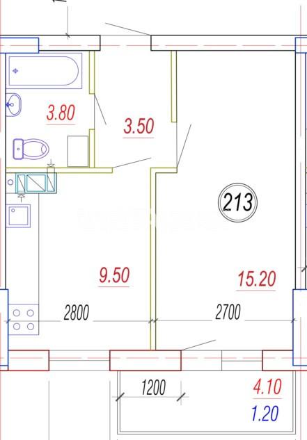 Продается 1-комнатная Квартира на ул. Балковская (Фрунзе) — 21 910 у.е.