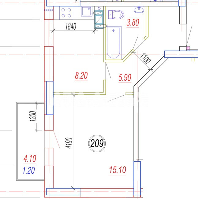 Продается 1-комнатная Квартира на ул. Балковская (Фрунзе) — 22 360 у.е.