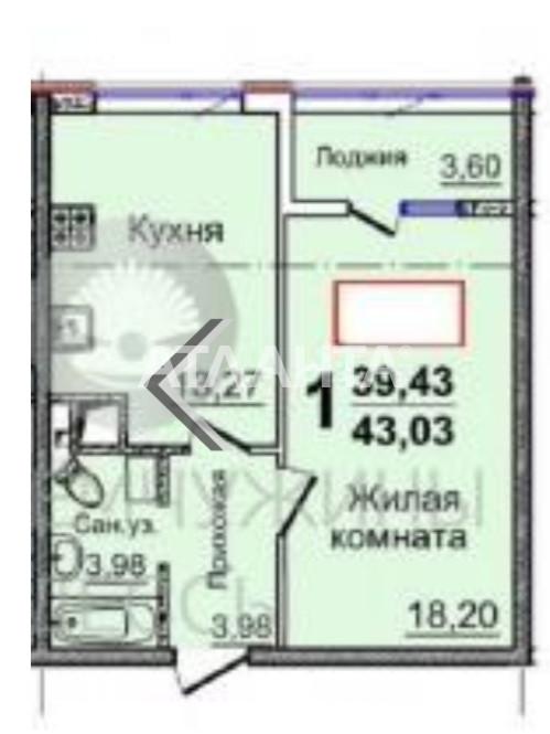 Продается 1-комнатная Квартира на ул. Жемчужная — 29 500 у.е. (фото №3)