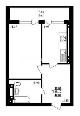 Продается 1-комнатная Квартира на ул. Днепропетр. Дор. (Семена Палия) — 32 000 у.е. (фото №6)
