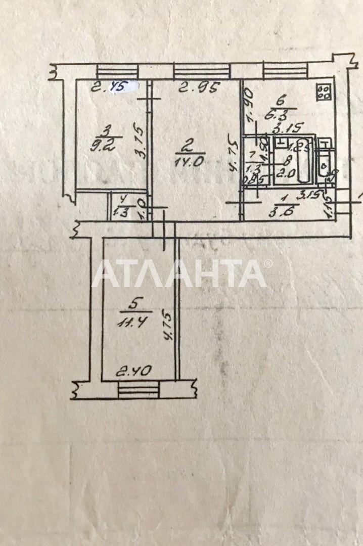 Продается 3-комнатная Квартира на ул. Жукова Вице- Адм. Пер. — 65 000 у.е. (фото №4)