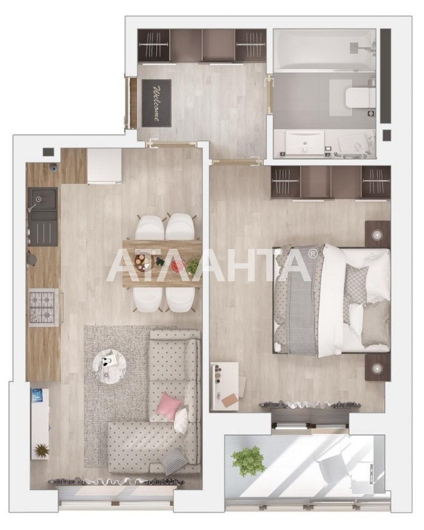 Продается 1-комнатная Квартира на ул. Вильямса Ак. — 24 000 у.е. (фото №5)