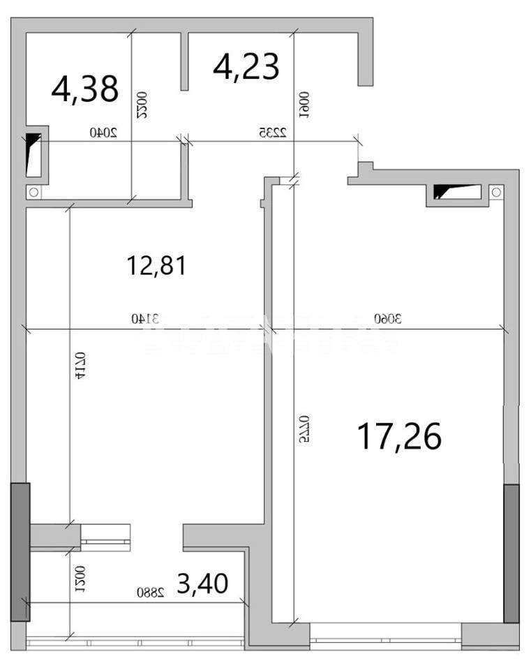 Продается 1-комнатная Квартира на ул. Вильямса Ак. — 24 000 у.е. (фото №6)