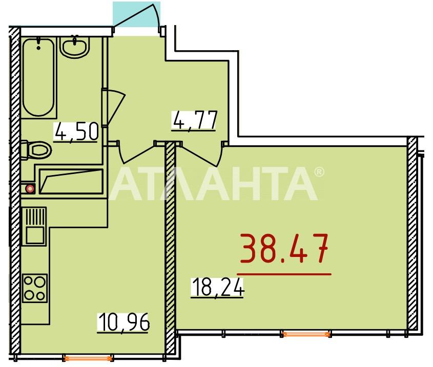 Продается 1-комнатная Квартира на ул. Бассейная — 32 000 у.е. (фото №3)