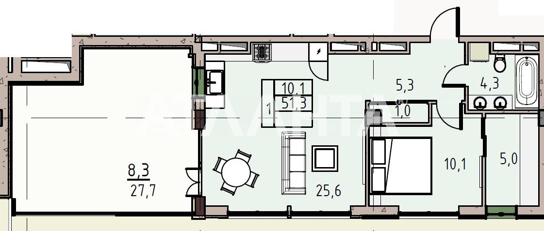 Продается 1-комнатная Квартира на ул. Донского Дмитрия — 71 280 у.е.