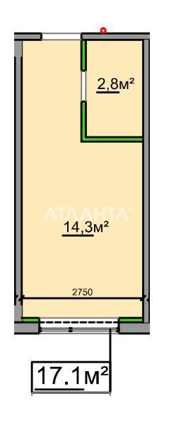 Продается 1-комнатная Квартира на ул. Промышленная — 14 000 у.е. (фото №4)