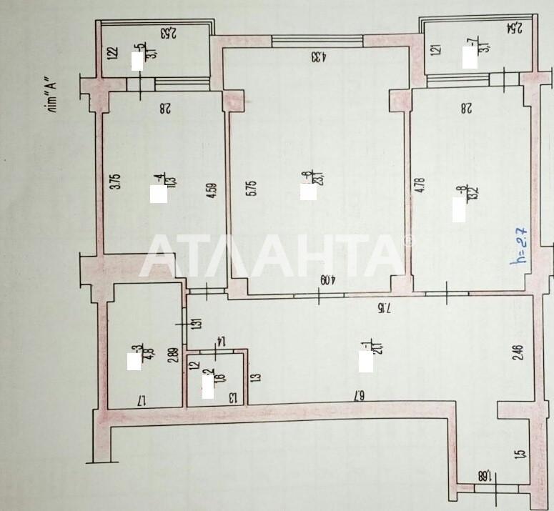 Продается 2-комнатная Квартира на ул. Бочарова Ген. — 35 000 у.е. (фото №9)