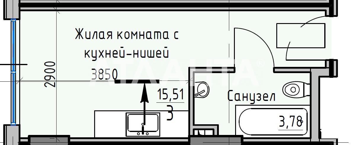 Продается 1-комнатная Квартира на ул. Раскидайловская (Станиславского) — 16 610 у.е.