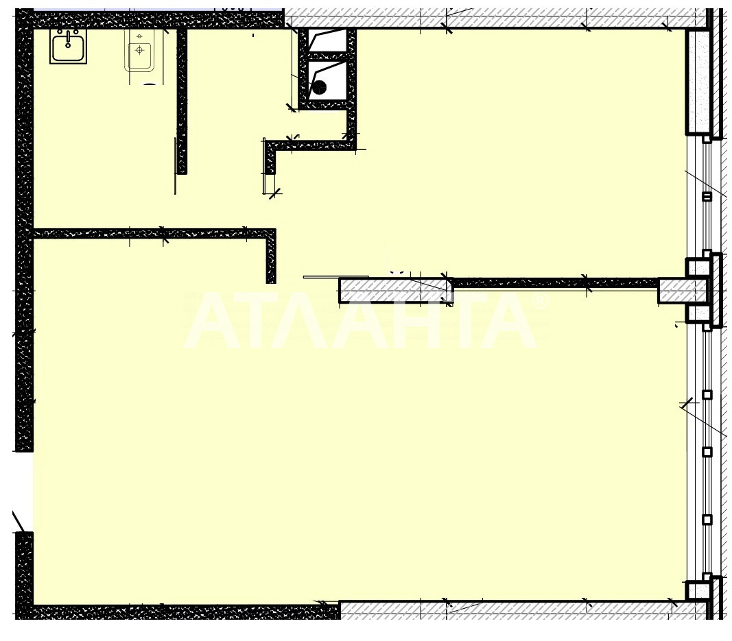 Продается 1-комнатная Квартира на ул. Французский Бул. (Пролетарский Бул.) — 82 000 у.е. (фото №3)