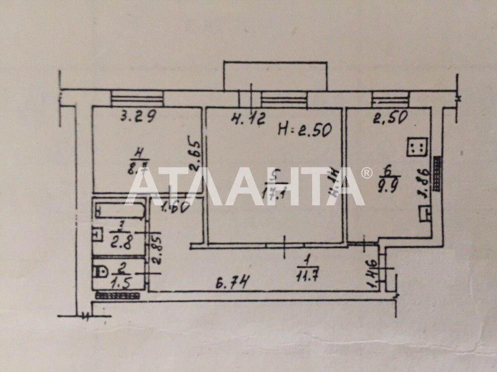 Продается 2-комнатная Квартира на ул. Хвойный Пер. — 53 000 у.е. (фото №9)