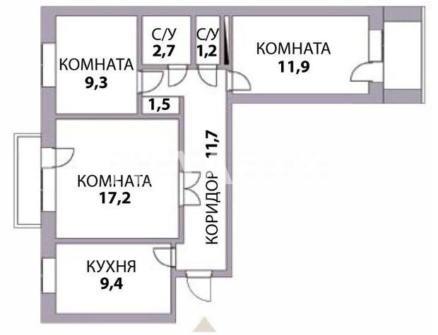 Продается 3-комнатная Квартира на ул. Балковская (Фрунзе) — 50 000 у.е. (фото №8)