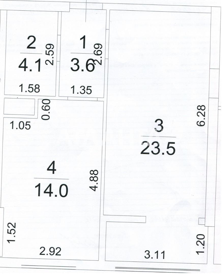 Продается 1-комнатная Квартира на ул. Французский Бул. (Пролетарский Бул.) — 49 900 у.е. (фото №4)