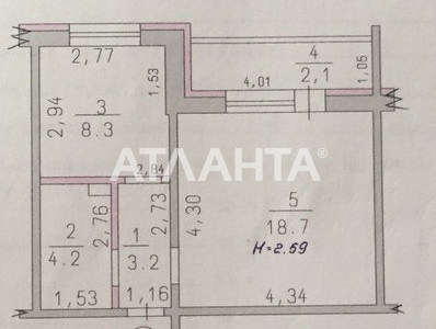 Продается 1-комнатная Квартира на ул. Радужный М-Н — 32 000 у.е. (фото №9)