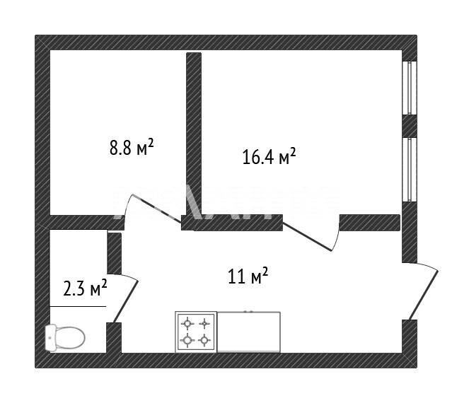 Продается 2-комнатная Квартира на ул. Степовая (Мизикевича) — 36 000 у.е. (фото №10)