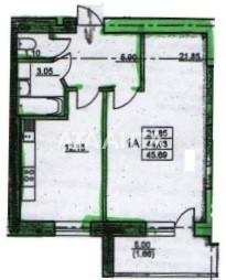 Продается 1-комнатная Квартира на ул. Черноморская — 16 370 у.е.