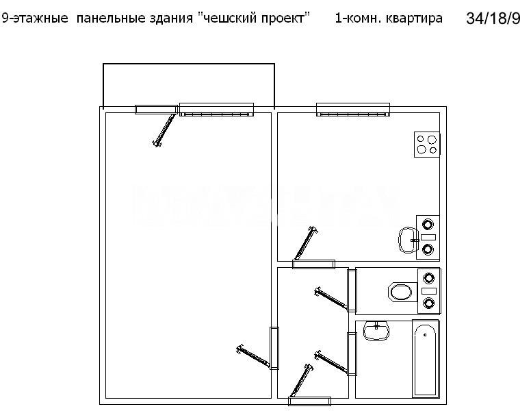 Продается 1-комнатная Квартира на ул. Крымская — 28 000 у.е. (фото №2)