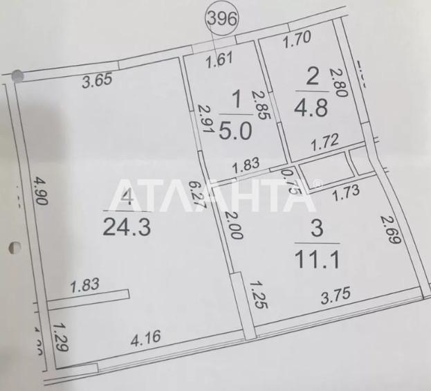 Продается 1-комнатная Квартира на ул. Каманина — 45 000 у.е. (фото №2)