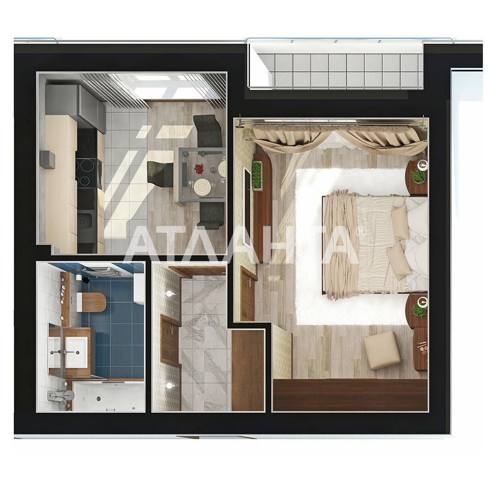 Продается 1-комнатная Квартира на ул. Чехова — 24 000 у.е. (фото №2)