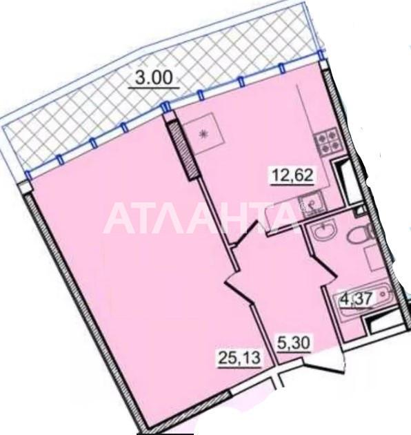 Продается 1-комнатная Квартира на ул. Генуэзская — 55 800 у.е. (фото №5)