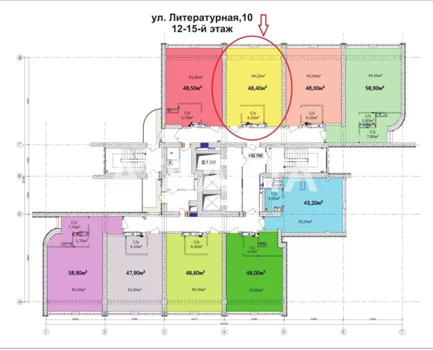 Продается 1-комнатная Квартира на ул. Литературная — 52 000 у.е. (фото №6)