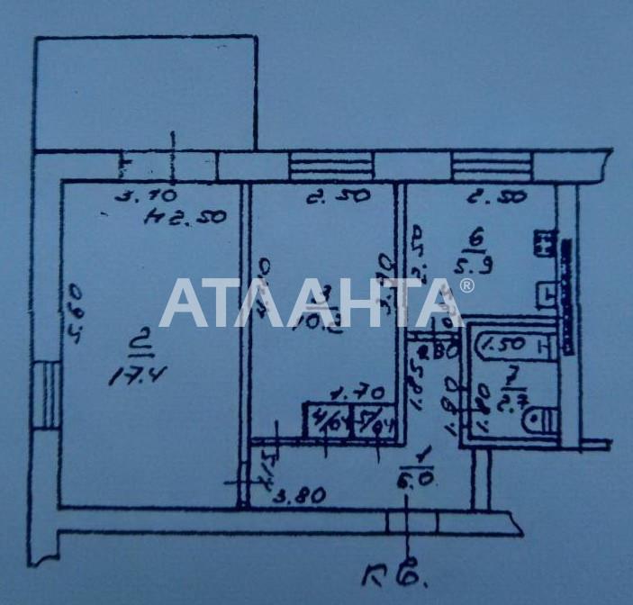 Продается 2-комнатная Квартира на ул. Люстдорфская Дор. (Черноморская Дор.) — 34 000 у.е. (фото №8)