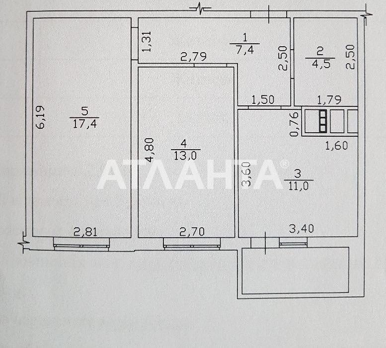 Продается 2-комнатная Квартира на ул. Михайловская (Индустриальная) — 46 000 у.е. (фото №3)