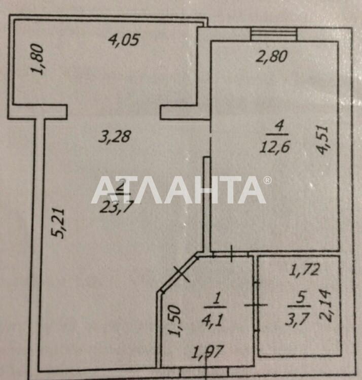 Продается 1-комнатная Квартира на ул. Софиевская — 30 000 у.е. (фото №3)