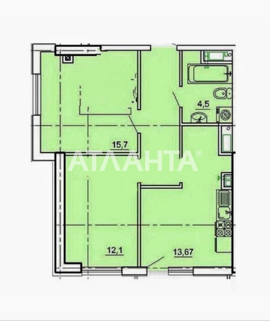 Продается 2-комнатная Квартира на ул. Педагогическая — 58 000 у.е. (фото №2)