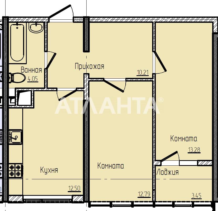 Продается 2-комнатная Квартира на ул. Жемчужная — 55 000 у.е. (фото №9)