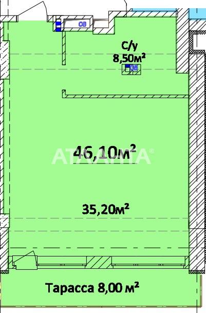 Продается 1-комнатная Квартира на ул. Литературная — 42 160 у.е.