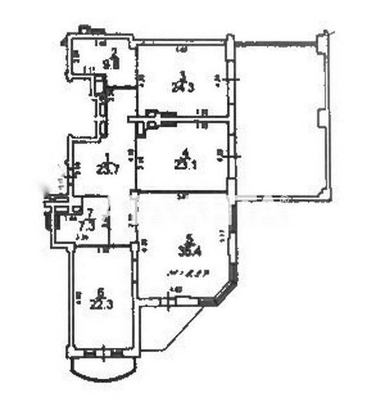 Сдается 3-комнатная Квартира на ул. Генуэзская — 3 000 у.е./мес. (фото №17)