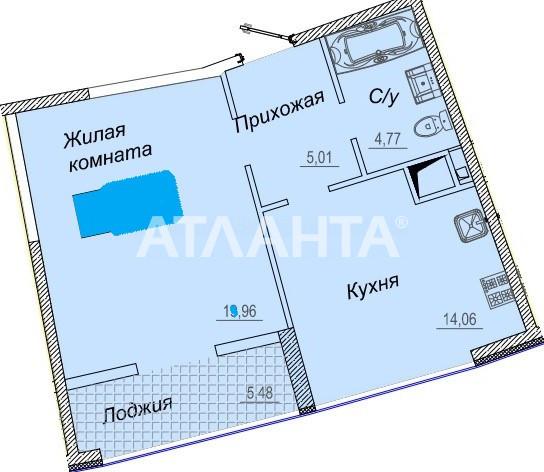 Продается 1-комнатная Квартира на ул. Каманина — 45 500 у.е. (фото №7)