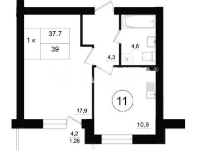 Продается 1-комнатная Квартира на ул. Чехова — 23 000 у.е. (фото №8)