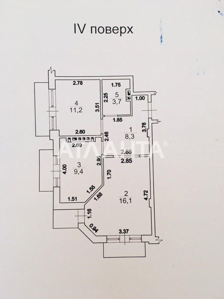 Продается 2-комнатная Квартира на ул. Леваневского Туп. — 75 000 у.е. (фото №22)