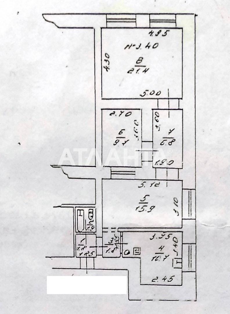 Продается 3-комнатная Квартира на ул. Чепиги Атам. (Бондарева) — 28 000 у.е. (фото №15)
