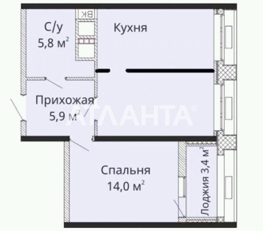 Продается 2-комнатная Квартира на ул. Толбухина — 39 000 у.е. (фото №2)