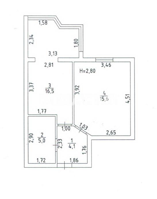 Продается 1-комнатная Квартира на ул. Независимости — 18 500 у.е. (фото №2)