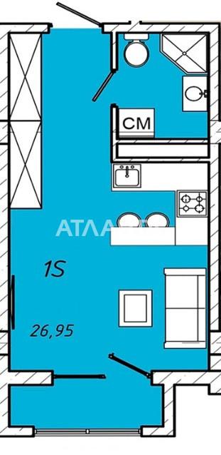 Продается 1-комнатная Квартира на ул. Колонтаевская (Дзержинского) — 26 950 у.е. (фото №4)