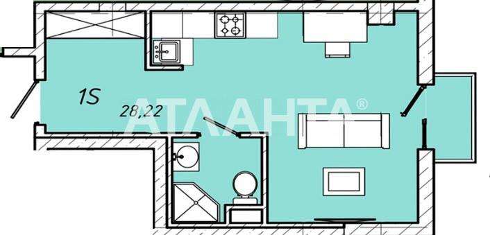 Продается 1-комнатная Квартира на ул. Колонтаевская (Дзержинского) — 25 400 у.е.