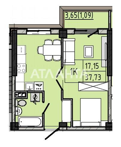 Продается 1-комнатная Квартира на ул. Люстдорфская Дор. (Черноморская Дор.) — 30 180 у.е. (фото №3)