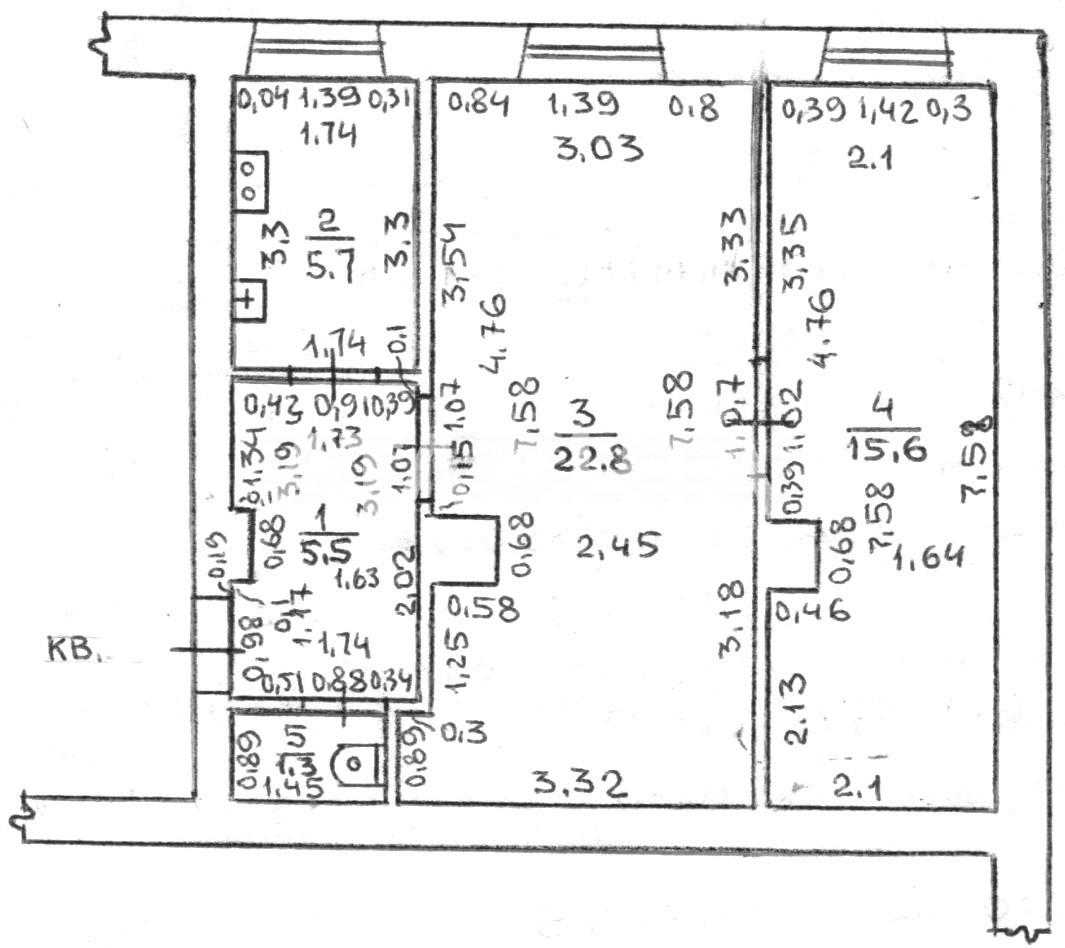 Продается 2-комнатная Квартира на ул. Еврейская (Бебеля) — 38 000 у.е. (фото №6)