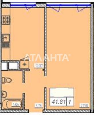Продается 1-комнатная Квартира на ул. Жемчужная — 27 500 у.е. (фото №2)